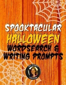Halloween Wordsearch Activity & Writing Prompts | Digital Sandbox | Scoop.it