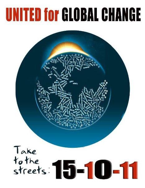 15 OCT #united for global change | 15.O-Unitedforglobalchange | Scoop.it