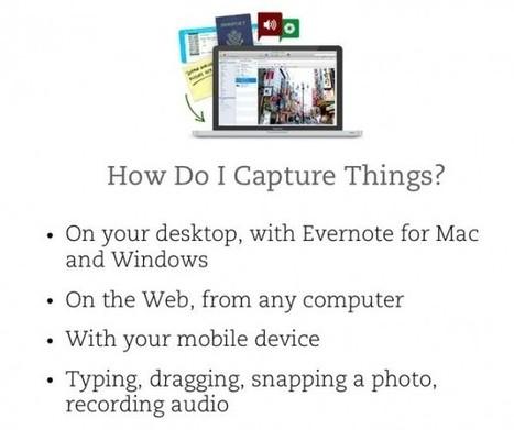 11 usos de Evernote para el mundo académico | Conocimiento libre y abierto- Humano Digital | Scoop.it
