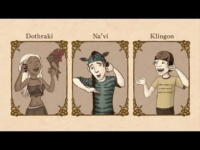 Are Elvish, Klingon, Dothraki and Na'vi real languages? - John McWhorter   Linguistics   Scoop.it