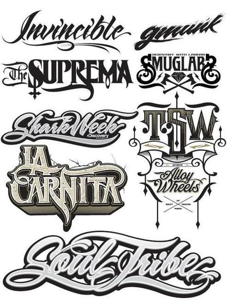 Cool fonts for logos