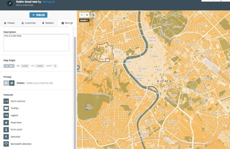 Create Professional Interactive Maps for Your Website or App with MapBox | Open Knowledge | Scoop.it