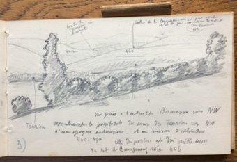 Croquis d'Albert Demangeon en Limousin (1906-1911) | Géographie : les dernières nouvelles de la toile. | Scoop.it