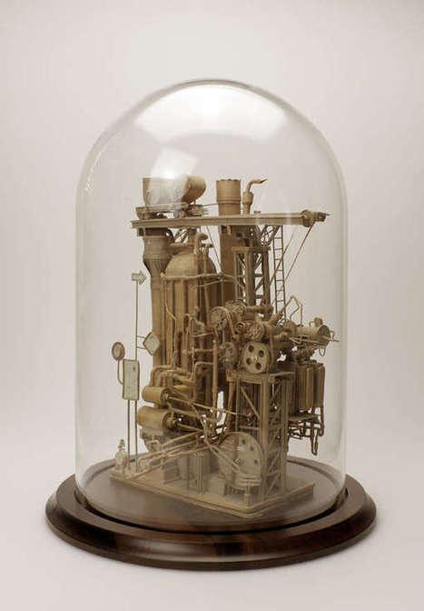 Elaborate Minuscule Paper Models | Arte y Fotografía | Scoop.it