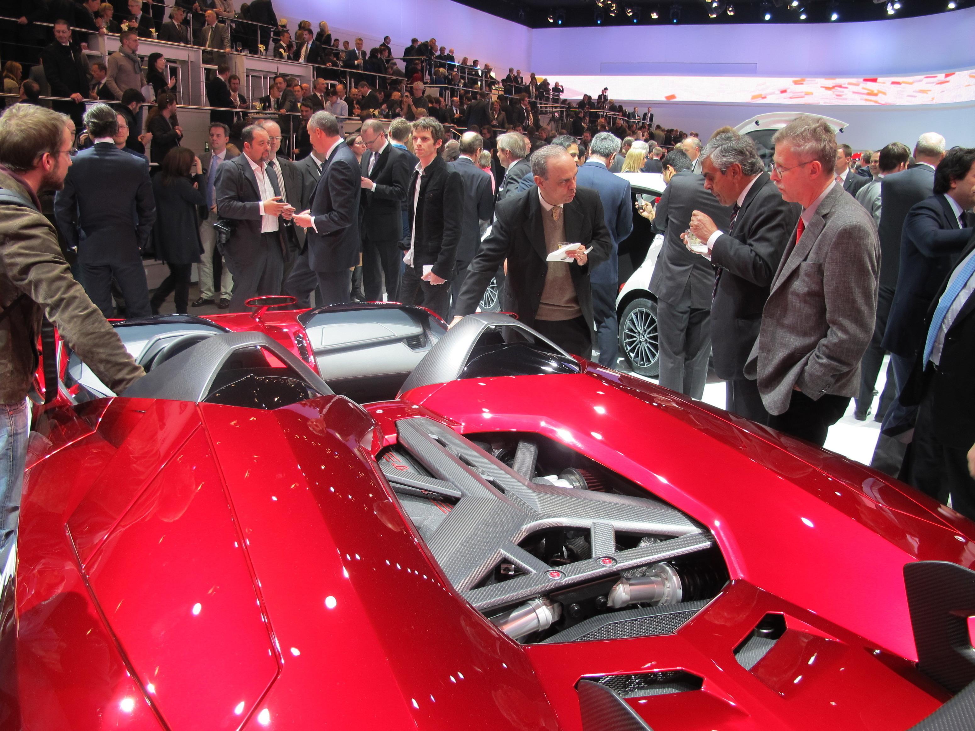 2012 Lamborghini Aventador J Concept Exotic M