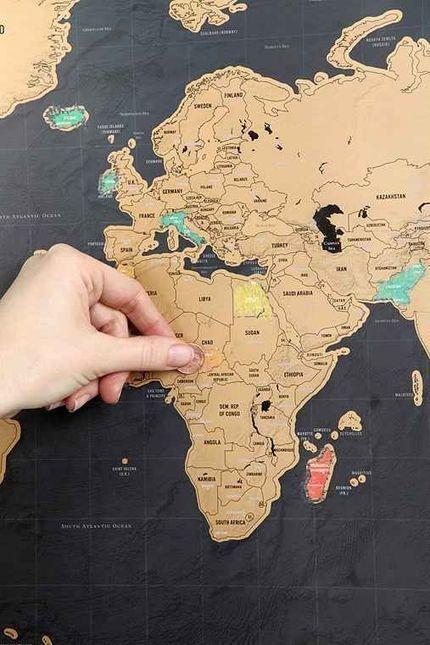 Mapas del mundo fuera de lo común | IdeasInnovadoras | Scoop.it