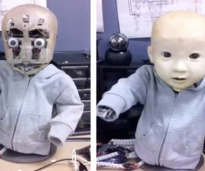Horrifying robot baby wants a hug   APPY HOUR   Scoop.it