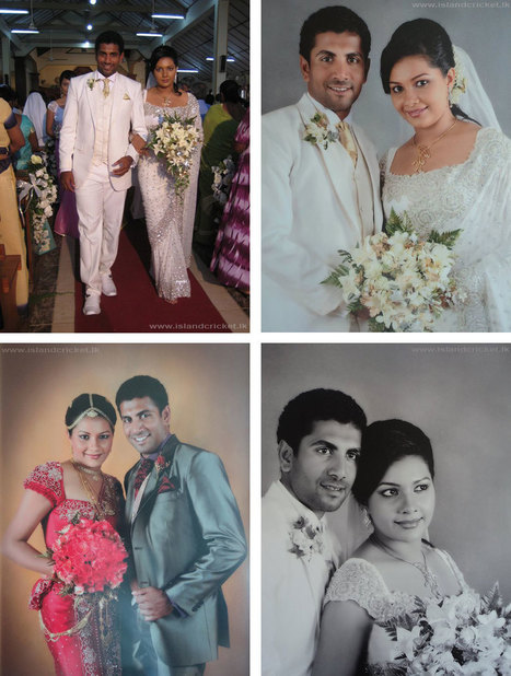 Kusal perera wedding dress