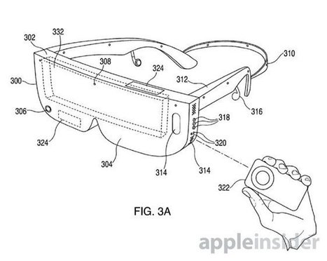 Apple wins patent for iPhone-powered virtual reality headset | Technology for productivity | Scoop.it