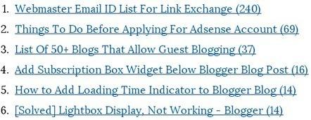 Add Most Commented Posts Widget to Blogger Blog | Blogger Tricks, Blog Templates, Widgets | Scoop.it
