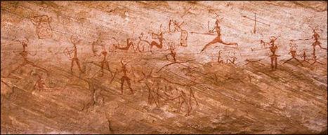 Jan14: SAHARAN ROCK ART 7,000 years ago. Sahara was greener Algeria, Libya, Morocco and Niger | Might be News? | Scoop.it