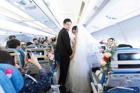 S'envoyer en l'air pour un mariage | Jet-lag, le magazine féminin de voyage | Scoop.it