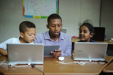 Schools across Africa introduce new approaches to learning with Google for Education | Educational Technology for Middle Schoolers | Scoop.it