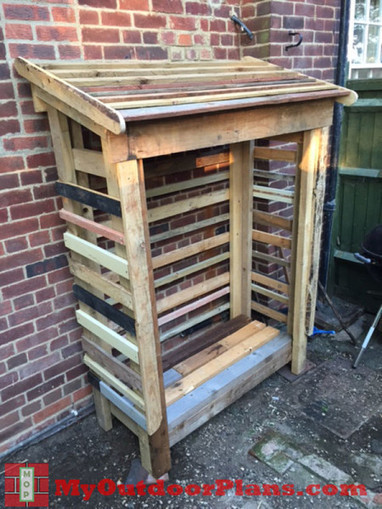 DIY Pallet Shed | Free Outdoor Plans - DIY Shed, Wooden Playhouse, Bbq, Woodworking Projects | Shed | Scoop.it