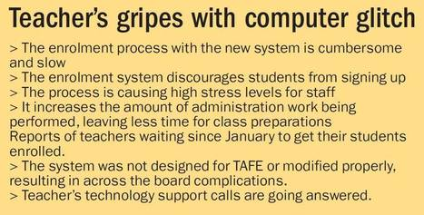 Technology 'wrecks' Armidale TAFE | TAFE Campaign | Scoop.it