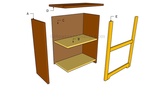 Simple bookshelf plans | HowToSpecialist - How to Build, Step by Step DIY Plans | Diy Furniture Plans | Scoop.it
