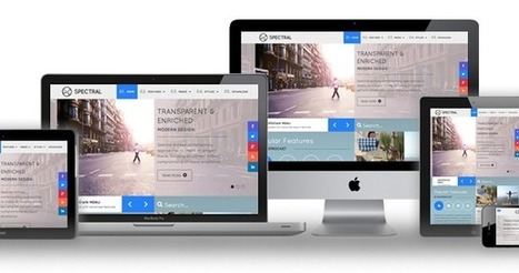 Responsive website templates | Scoop.it