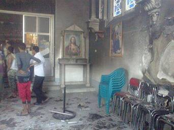 Morsi/Muslim Brotherhood supports have attacked at least 10 Coptic churches in Sohad, Menya, and Dilga | Unthinking respect for authority is the greatest enemy of truth. | Scoop.it