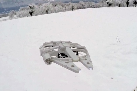 Shut up and take my money! Hobbyist creates fully-functional Millennium Falcon drone | Christian Querou | Scoop.it