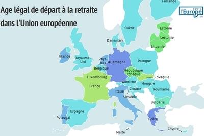 L'âge légal de départ à la retraite dans l'Union européenne -Toute l'Europe