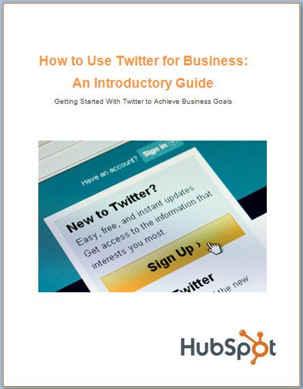 Twitter for Business-A Beginner's Guide | Les Livres Blancs d'un webmaster éditorial | Scoop.it
