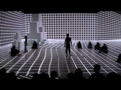 This Digital Dance Space Reacts to Performers' Movements in Real Time | R A N D O M S T Y L E | Scoop.it
