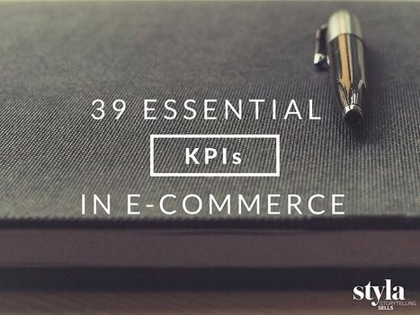 39 Essential KPIs in E-Commerce To Swear By - Styla   CustDev: Customer Development, Startups, Metrics, Business Models   Scoop.it