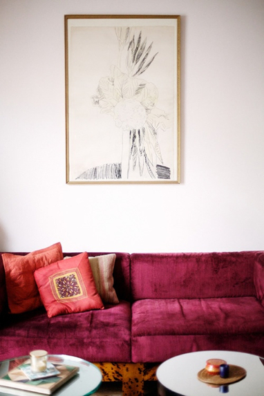 Montage: Pink Living Rooms - StyleCarrot | Designing Interiors | Scoop.it