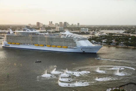 Watch: One-Minute Tour of World's Largest Cruise Ship | Nereides Diary | Scoop.it