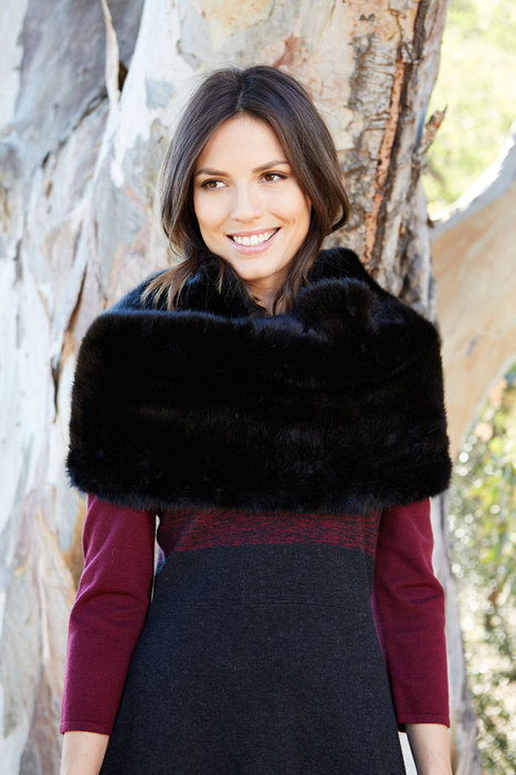 Must-Have Accessory: Regents Fur Snood • Jigsaw Says Blog | Womens Fashion | Scoop.it