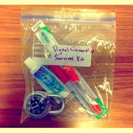The Digital Citizenship Survival Kit | Comfortably 2.0 | Digital Citizenship | Scoop.it