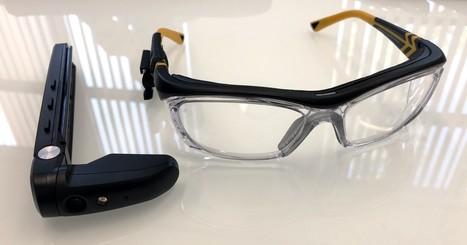 4929af5724f68a Toshiba lance des lunettes de réalité augmentée pour les professionnels  reliées à un mini-Pc Windows 10