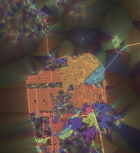 Crayon The Grids – Maps Of Street Layouts Colored By Orientation | Ville numérique - Mobilités | Scoop.it