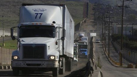 Border opens to Mexican trucks | Global Trade and Logistics | Scoop.it