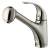 Kitchen Sinks And Faucets   Stainless Steel Faucets   Modern Bathroom Faucet - KitchenZip