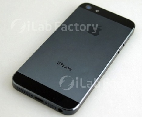 "Pictures of ""iPhone 5″ Surface, Show Larger Display & Metallic ... 
