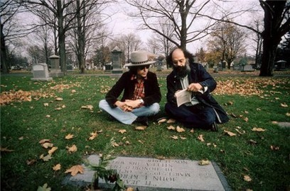 Bob Dylan and Allen Ginsberg Visit the Grave of Jack Kerouac (1975) | The Blog's Revue by OlivierSC | Scoop.it