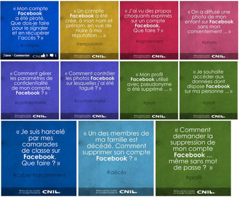 La CNIL avertit les utilisateurs de Facebook… | Copywright vs Copywrong | Scoop.it