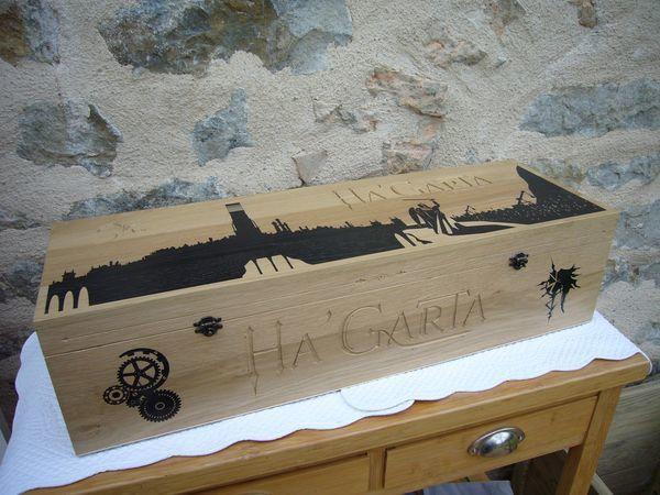 boite en bois sur mesure cr ation arti. Black Bedroom Furniture Sets. Home Design Ideas
