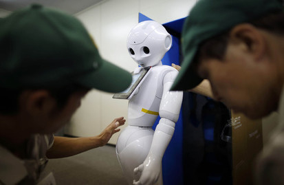 SoftBank's Pepper Robots Ready for Business With Apps Next Month | Shiftime | Scoop.it