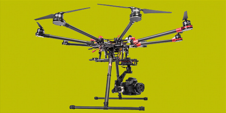 DJI : LE DRONE PLUS FORT QUE SUPERCOPTER - GQ Magazine | Informatique et autres geekeries | Scoop.it