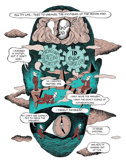 Freud's Life and Legacy, in a Comic | Social Foraging | Scoop.it