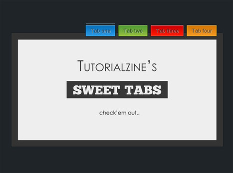 11 Useful jQuery Tab Navigation Solutions   jQuery-Javascript   Scoop.it