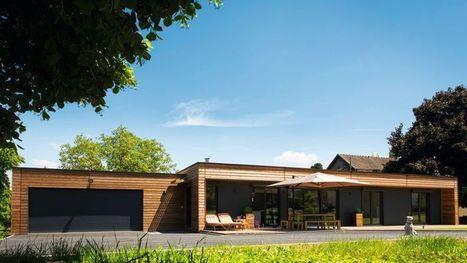 maison bois rectangulaire