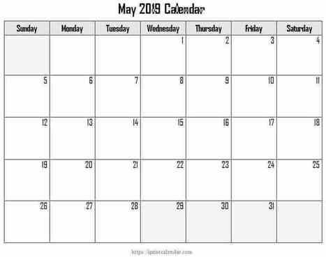 March 2019 Calendar Printable Template | Clenda