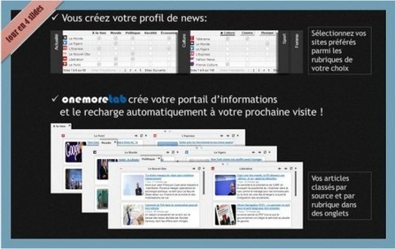 Se créer son propre portail de news, Onemoretab | SOCIALFAVE - Complete #SMM platform to organize, discover, increase, engage and save time the smartest way. #TOP10 #Twitter platforms | Scoop.it