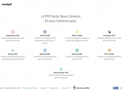 Smallpdf, suite en ligne d'outils pour travailler sur du PDF | netnavig | Scoop.it