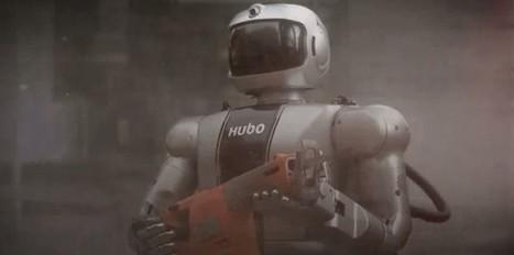 """Hubo: un """"robot la débrouille"""", pour le Grand Challenge de la Darpa   Science techno   Scoop.it"""