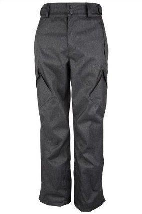 f2bc5d2e49102 Mountain Warehouse Salen Mens Textured Ski Pants Dark Gray.