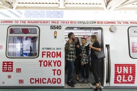 Uniqlo crée une expérience immersive dans le métro de Chicago | streetmarketing | Scoop.it